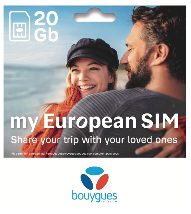 Prepaid Sim Card For Holidays In Europe Bouygues Telecom