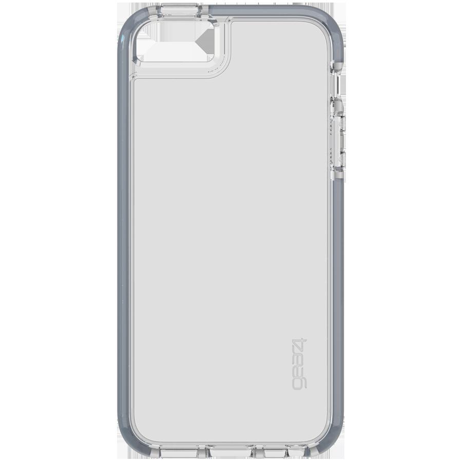 Coque Gear4 transp. et Gris iP5/5S/SE - accessoire - Bouygues Telecom
