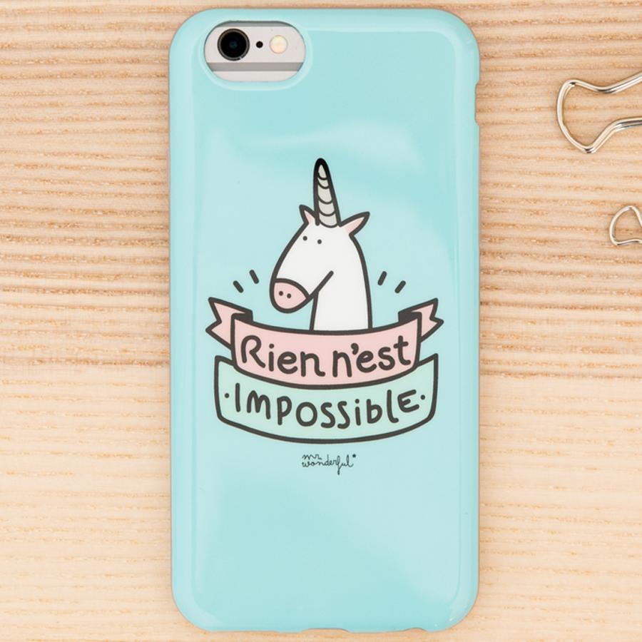 Coque Mr Wonderful pour iPhone 6/6S - accessoire - Bouygues Telecom