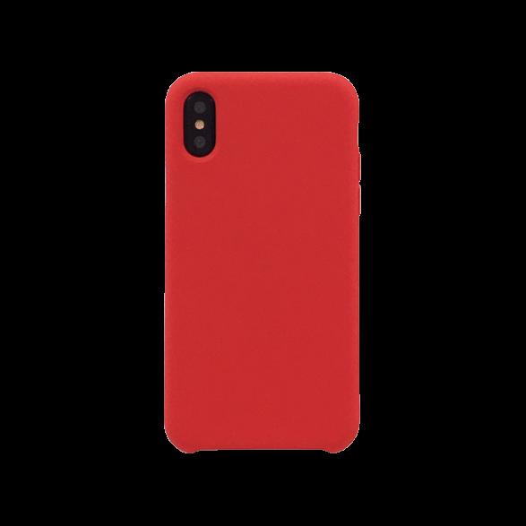 Coque rigide soft touch rouge pour iPhone X : accessoires ...