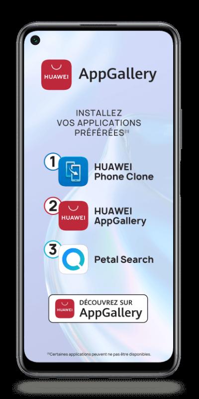 Visuel du téléphone mobile Huawei P40 Lite 5G