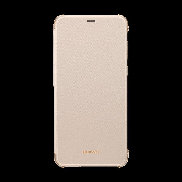 Etui folio Huawei or pour P smart - accessoire Bouygues Telecom