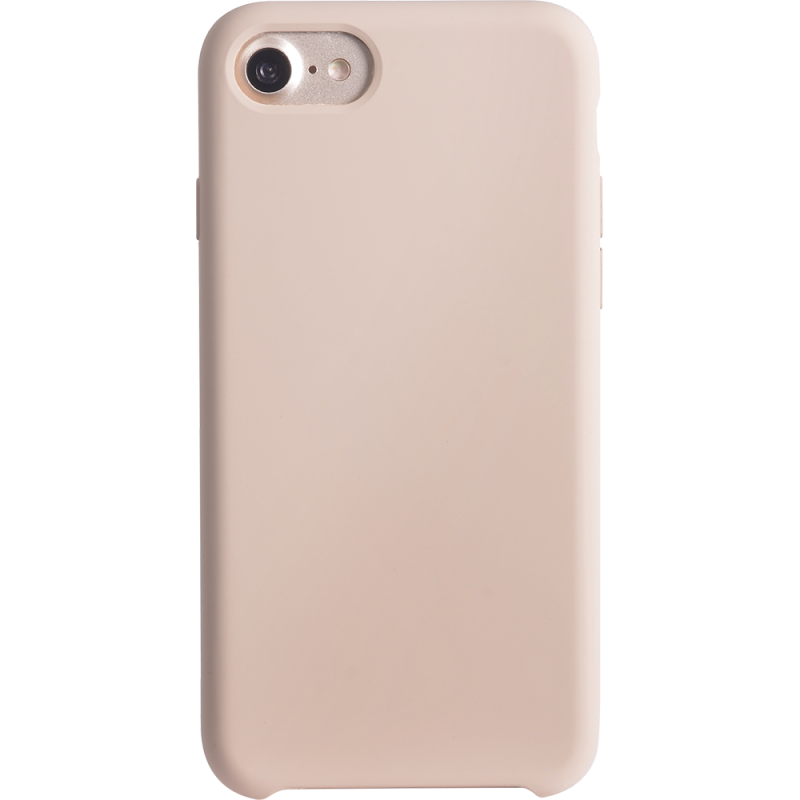 iphone 8 7 6s 6 coque bigben soft touch creme 2