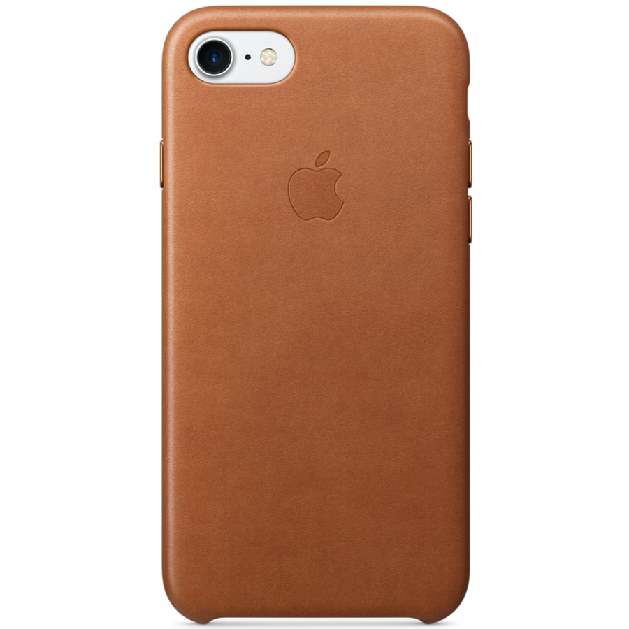 coque iphone 8 plus cuir havane