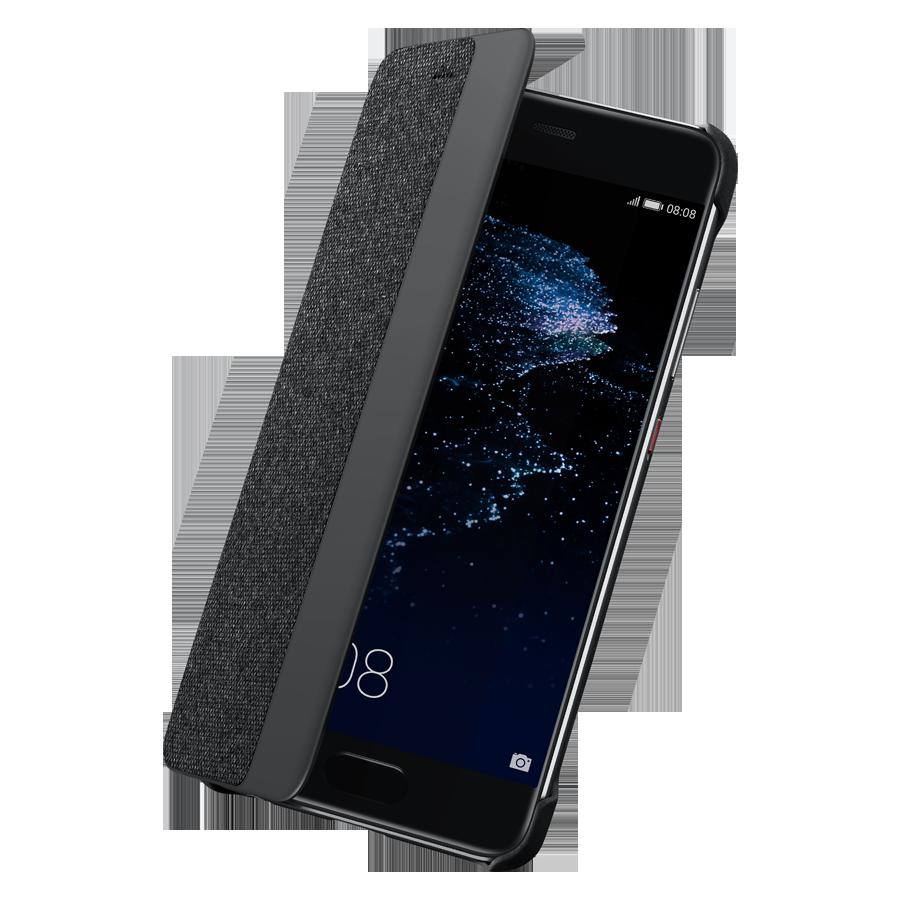 Etui Folio dark grey Huawei pour P10 Plus