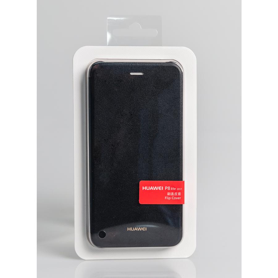 Etui Folio anthracite Huawei pour P8 Lite 2017