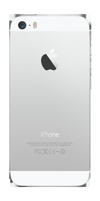 t l phone apple iphone 5s 16go argent avec forfaits sans engagement b you. Black Bedroom Furniture Sets. Home Design Ideas