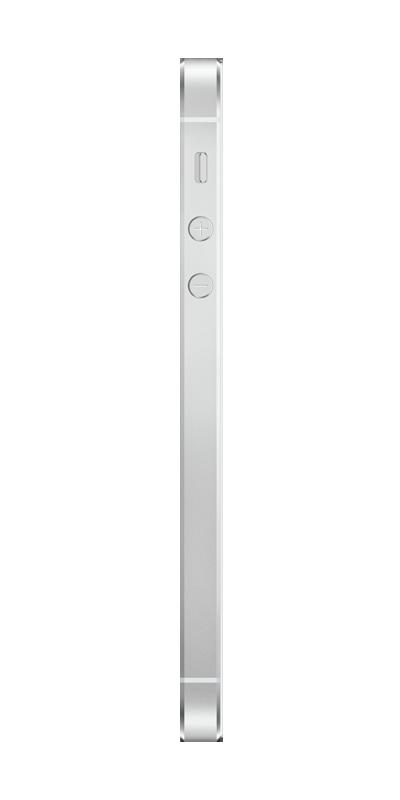 t l phone apple iphone 5s 32go argent avec forfaits sans engagement b you. Black Bedroom Furniture Sets. Home Design Ideas