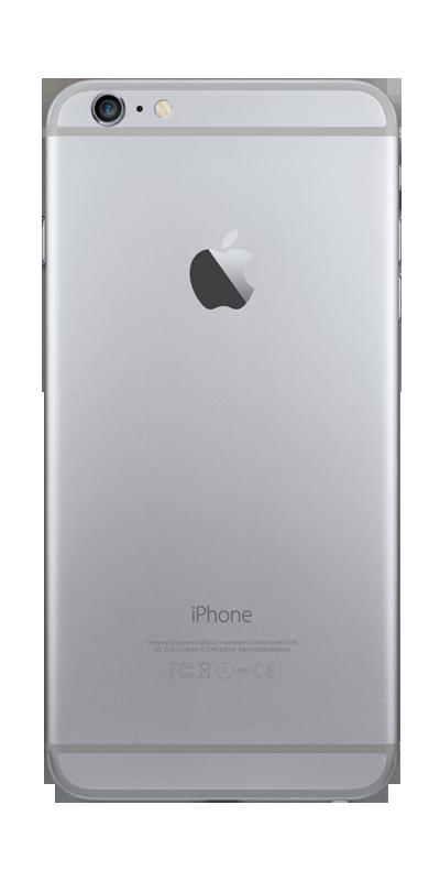 t l phone apple iphone 6 plus 16go gris sid ral avec forfaits sans engagement b you. Black Bedroom Furniture Sets. Home Design Ideas