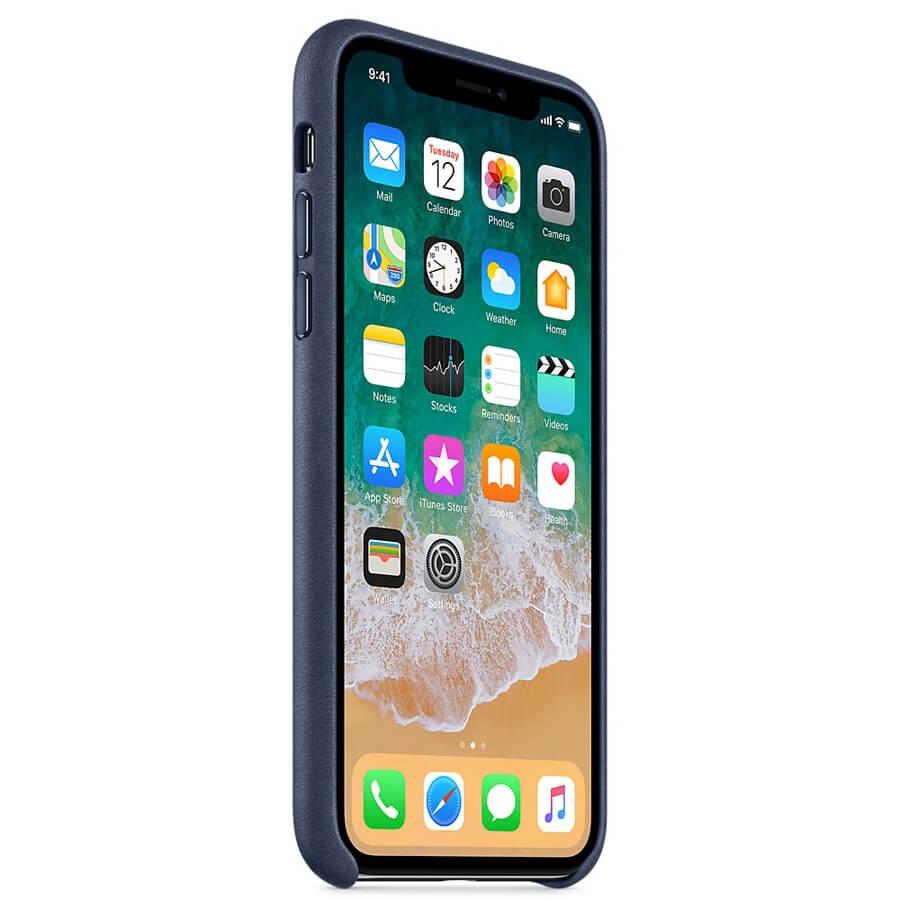 Coque En Cuir Apple Pour Iphone X Accessoires Bouygues Telecom