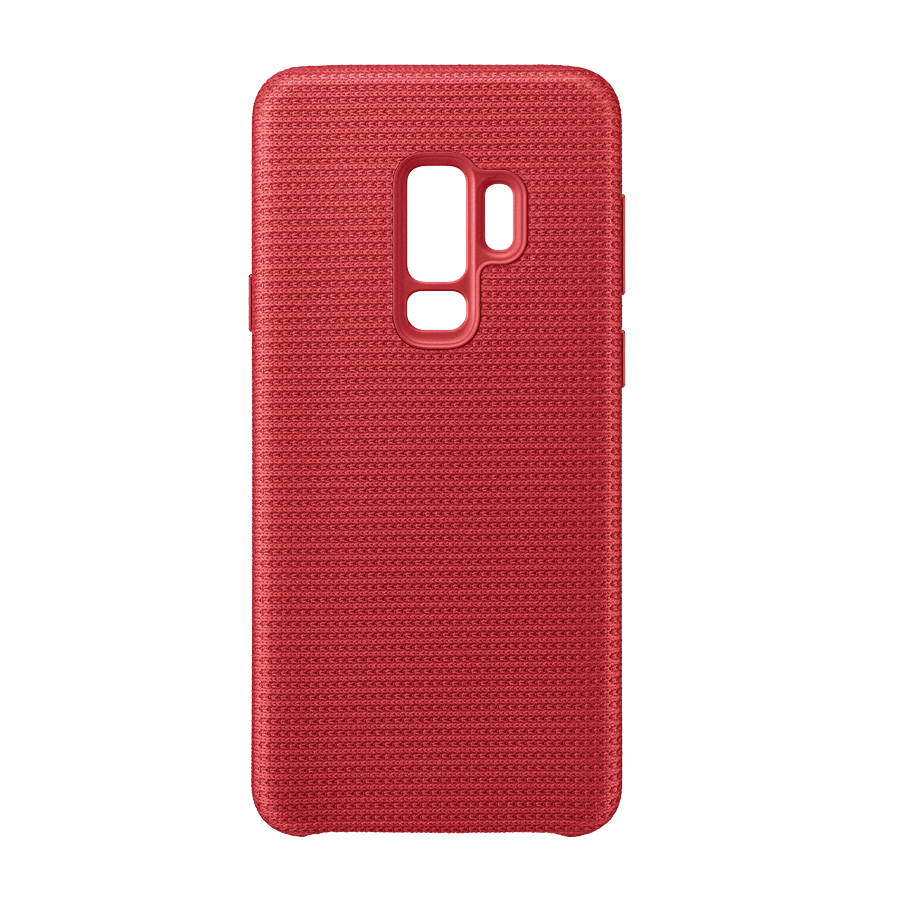 separation shoes online here stable quality Coque Hyperknit rouge Galaxy S9+