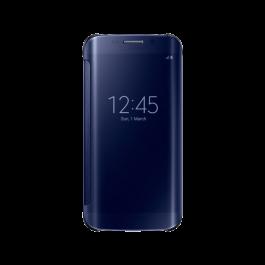Clear View Cover Noir pour Galaxy S6 Edge  Noir