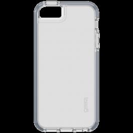 Coque Gear 4 transparente pour iPhone 5/5S/SE-Gris  Gris