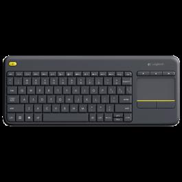 Clavier K400 Plus pour PC connecté aux télévisions  Noir