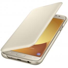Étui à rabat pour Samsung Galaxy J5 2017 Or  Or