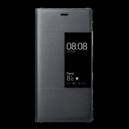 Etui folio noir pour Huawei P9  Noir