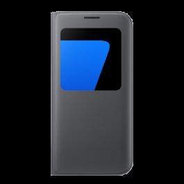 S View Cover Noir Galaxy S7 edge  Noir