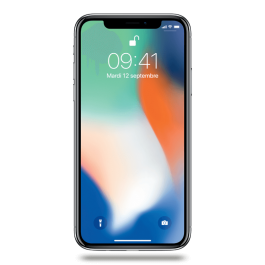 iPhone X 64 Go Argent