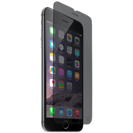 Protège écran verre trempé Force Glass confidentiel pour iPhone 6/6S