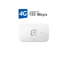 Hotspot Mobile 4G - E5573B  Blanc