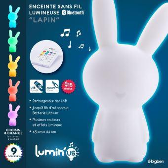 Nounours Enceinte Bluetooth Lumineuse Accessoires Bouygues Telecom
