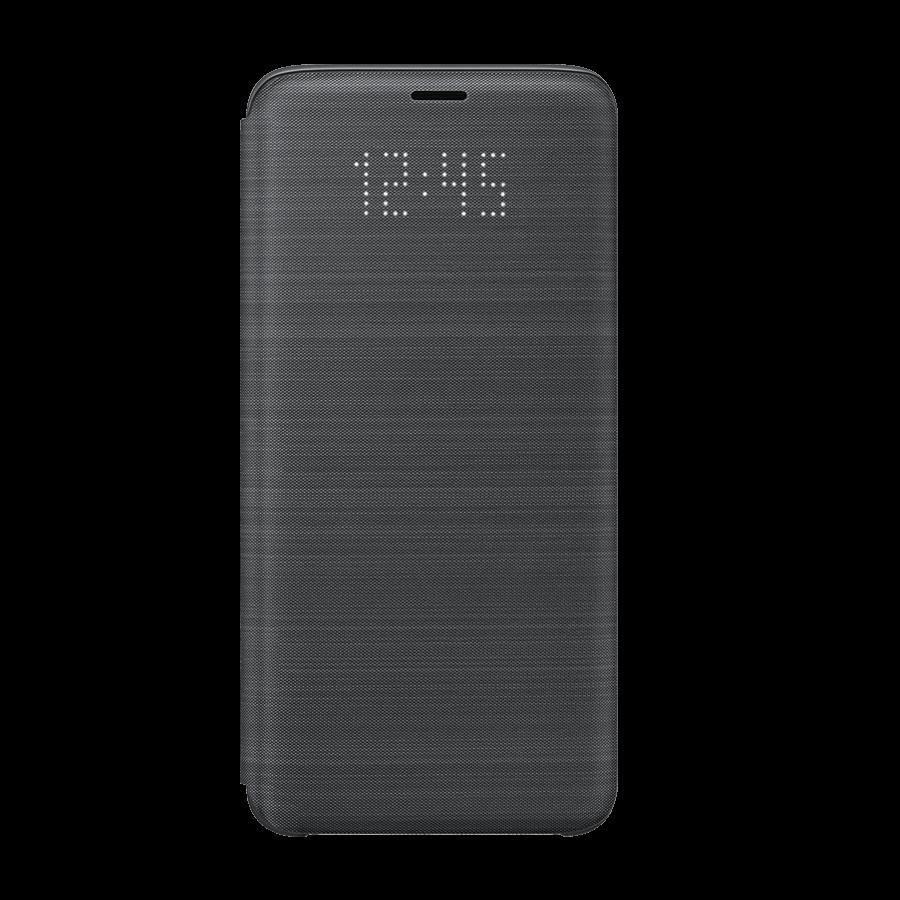Etui Led View Noir Pour Samsung Galaxy S9