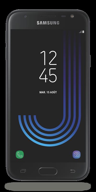 samsung galaxy j3 207 noir 16go smartphone bouygues telecom. Black Bedroom Furniture Sets. Home Design Ideas