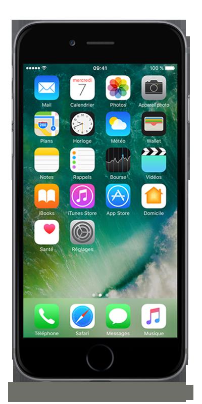 t l phone apple iphone 6 16go gris sid ral avec forfaits sans engagement b you. Black Bedroom Furniture Sets. Home Design Ideas