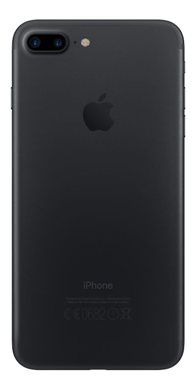 apple iphone 7 plus noir mat 128go smartphone bouygues telecom. Black Bedroom Furniture Sets. Home Design Ideas