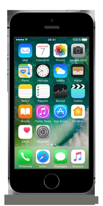 apple iphone se gris sid ral 128go smartphone bouygues telecom. Black Bedroom Furniture Sets. Home Design Ideas