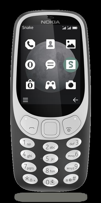 nokia 3310 gris fonce 0 128 go smartphone bouygues telecom. Black Bedroom Furniture Sets. Home Design Ideas