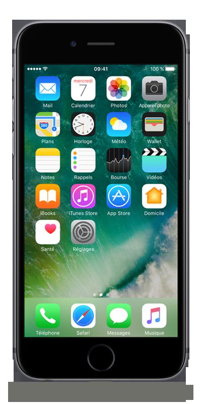 apple iphone 6s gris sid ral 32go smartphone bouygues telecom. Black Bedroom Furniture Sets. Home Design Ideas