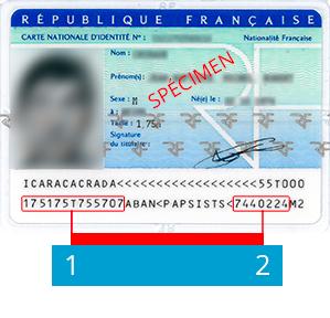 numéro de carte d identité 12 chiffres Bouygues Telecom