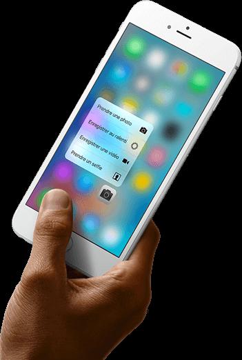 3D Touch La toute nouvelle génération de Multi-Touch