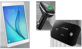 Hotspots et tablettes 4G