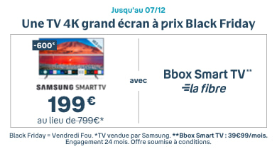Black Friday 2020 - Bouygues Telecom
