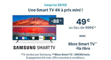 Samsung Smart TV | Bouygues Telecom