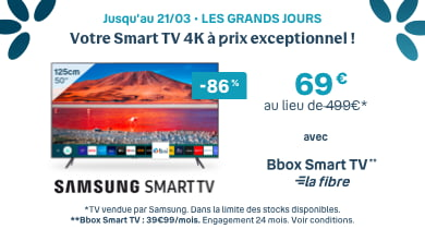 Samsung Smart TV | Bouygues Telecom
