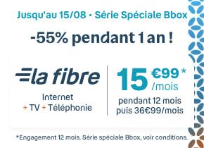 Série Spéciale La Fibre Bbox | Bouygues Telecom