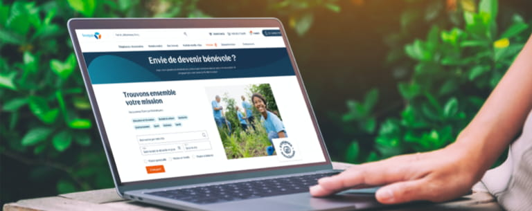 Visuel mobile mission benevolat - Bouygues Telecom