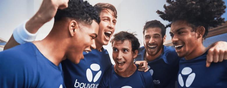 Visuel mobile sponsoring sportif - Bouygues Telecom