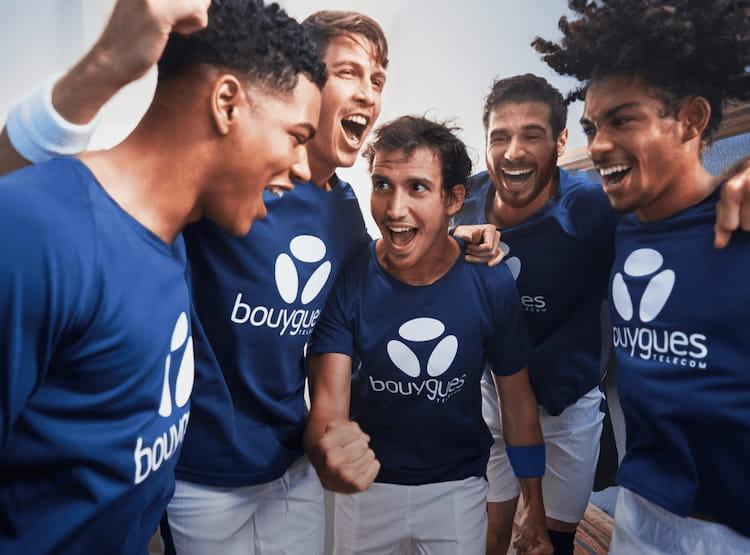 Visuel sponsoring sportif - Bouygues Telecom