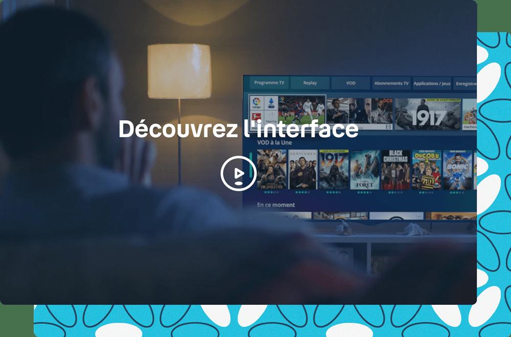 Visuel menu TV Bbox TV 4K - Bouygues Telecom