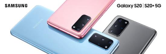 Visuel Samsung Galaxy S20 - Bouygues Telecom