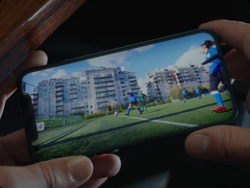 Visuel Qualité de vidéo optimale | 5G Bouygues Telecom