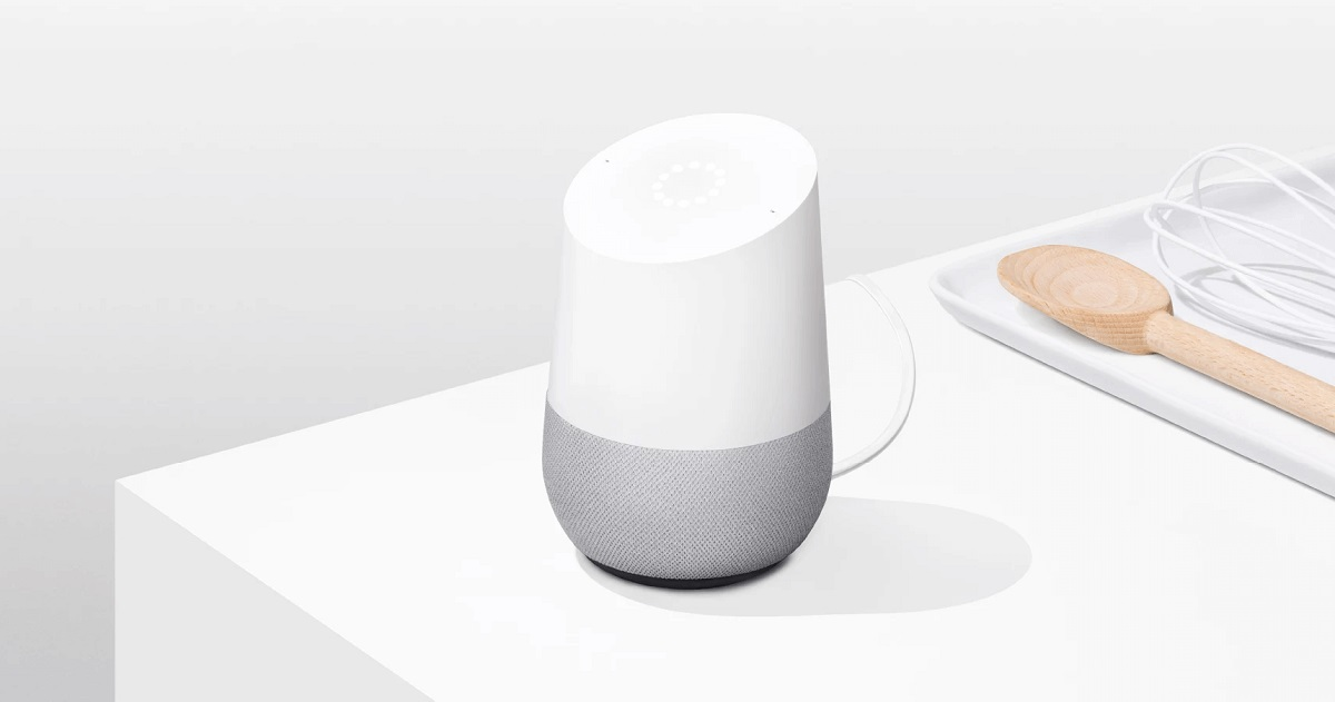 enceinte connectee google assistant