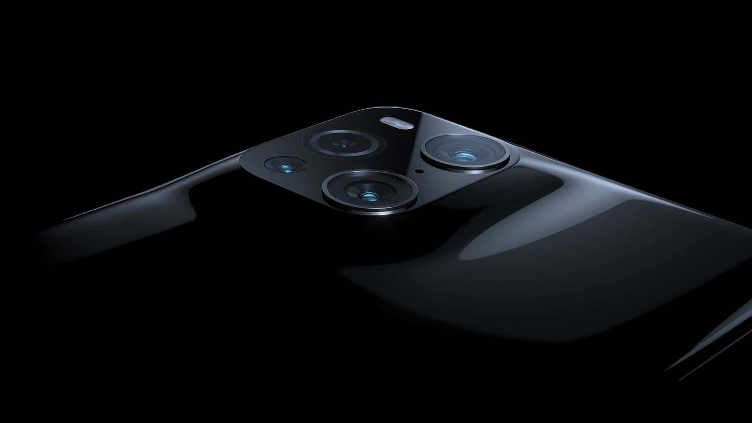 oppo find x3 pro appareil photo noir