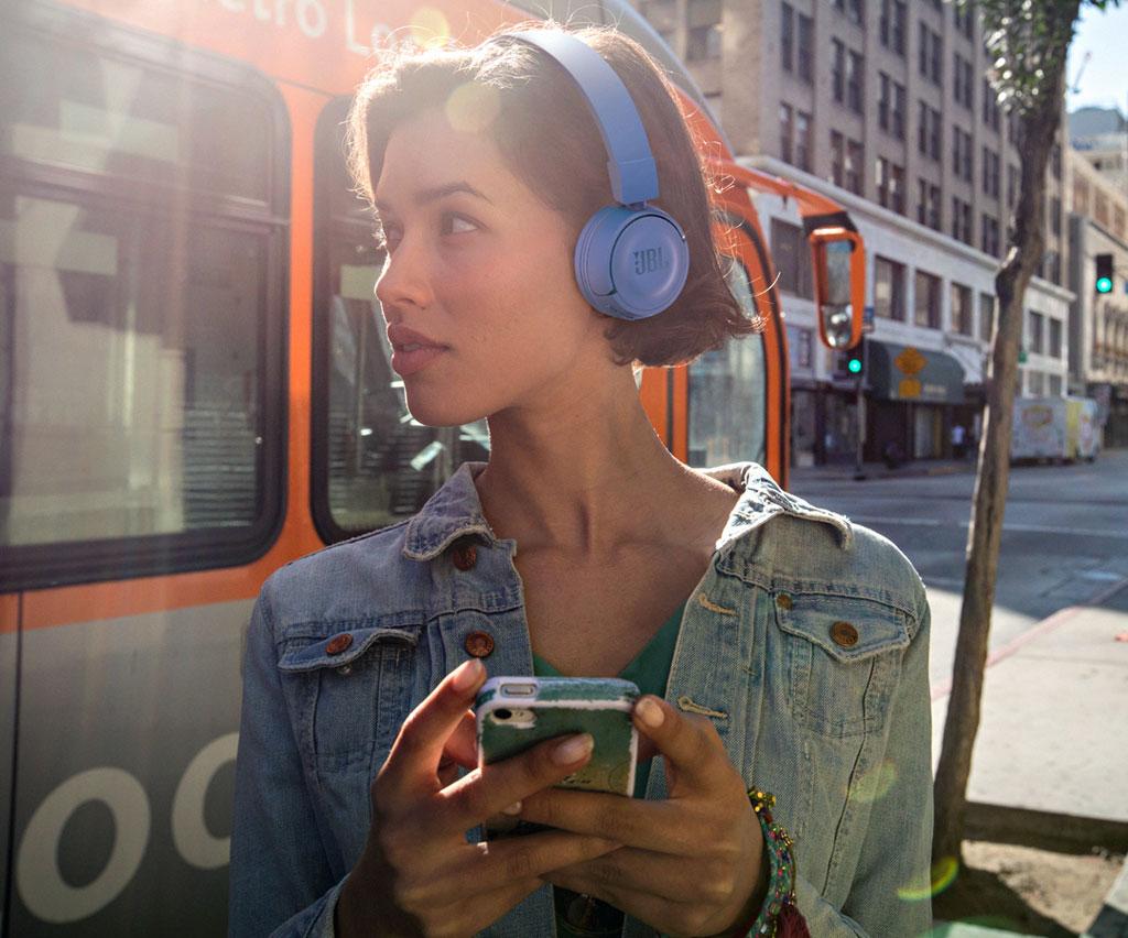 JBL T450BT Commande des appels et de la musique sur écouteur