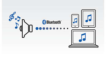 Profitez de votre musique sans fil grâce au Bluetooth