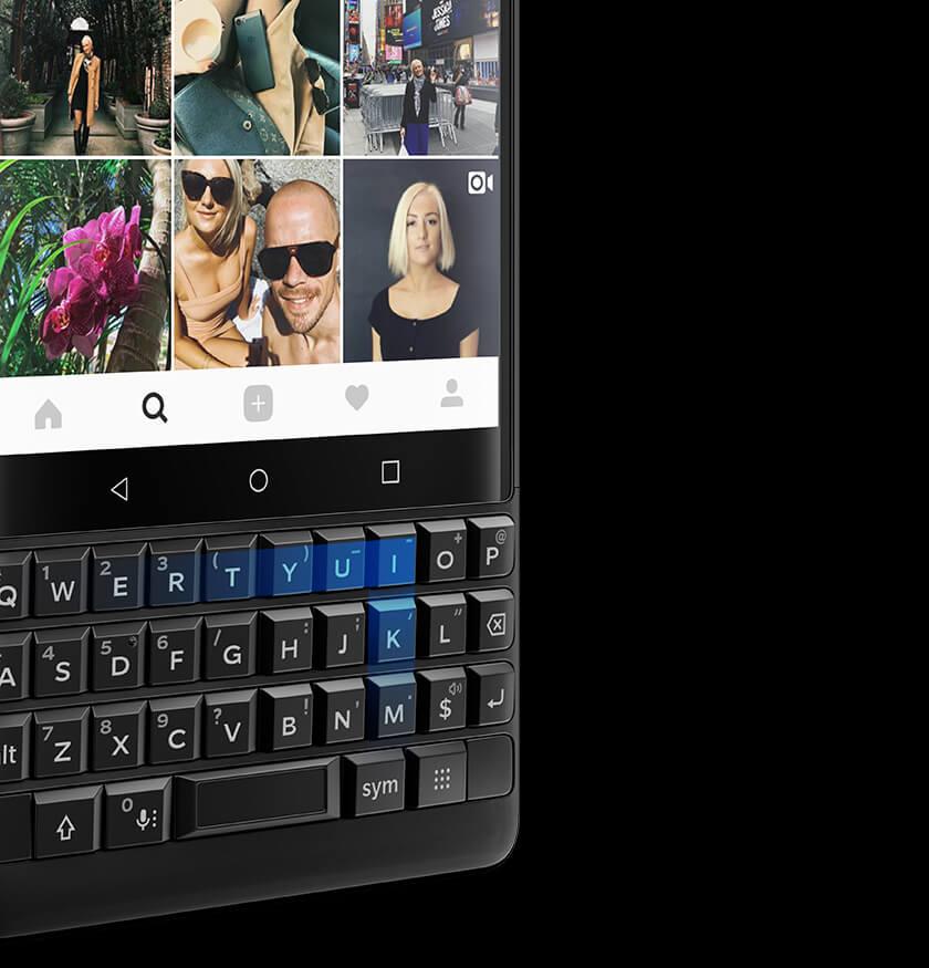 Notre clavier toujours plus intelligent - BlackBerry KEY2